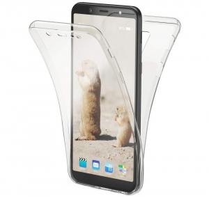 Husa Full TPU 360 fata + spate Samsung Galaxy A6+ (2018), Transparent0