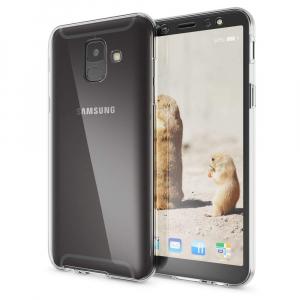 Husa Full TPU 360 fata + spate Samsung Galaxy A6 (2018), Transparent1