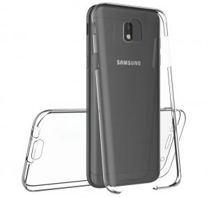 Husa Full TPU 360 fata spate Samsung Galaxy J3 (2017), Transparent3