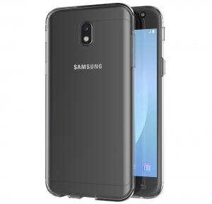 Husa Full TPU 360 fata spate Samsung Galaxy J3 (2017), Transparent2
