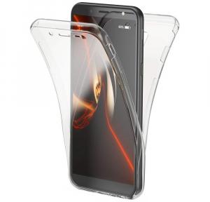 Husa Full TPU 360 fata + spate Samsung Galaxy J6 (2018), Transparent0