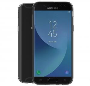 Husa Full TPU 360 fata spate Samsung Galaxy J7 (2017), Gri Transparent1