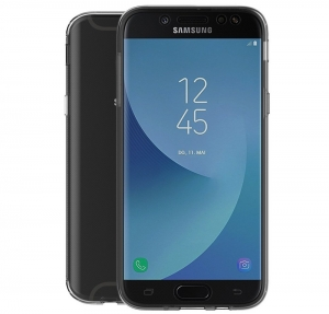 Husa Full TPU 360 fata spate Samsung Galaxy J7 (2017), Transparent1