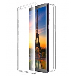 Husa Full TPU 360 (fata + spate) Samsung Galaxy Note 8, Transparent1