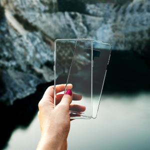 Husa Full TPU 360 fata + spate Samsung Galaxy Note 9, Transparent2