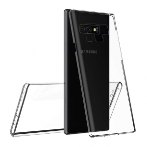 Husa Full TPU 360 fata + spate Samsung Galaxy Note 9, Transparent1