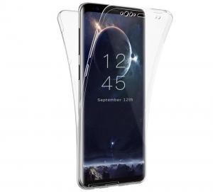 Husa Full TPU 360 fata + spate Samsung Galaxy S9, Transparent0