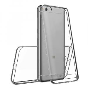 Husa Full TPU 360 fata + spate Xiaomi Redmi 5A, Transparent1