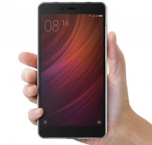 Husa Full TPU 360 fata spate Xiaomi Redmi Note 4, Gri Transparent3