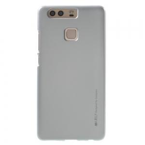 Husa Goospery i-Jelly Huawei P9, Silver1