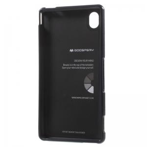 Husa Goospery i-Jelly Sony Xperia M4 Aqua, Black2