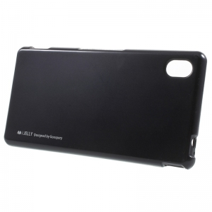 Husa Goospery i-Jelly Sony Xperia M4 Aqua, Black1