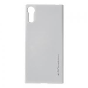 Husa Goospery i-Jelly Sony Xperia XZ, Silver0