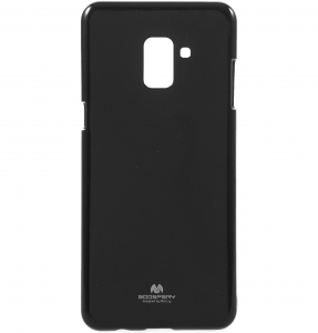 Husa Goospery Jelly Samsung Galaxy A8 (2018), Negru [1]