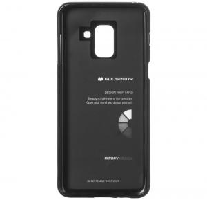 Husa Goospery Jelly Samsung Galaxy A8 (2018), Negru [3]