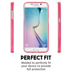 Husa Goospery Jelly Samsung Galaxy S6 Edge, Hot Pink [2]