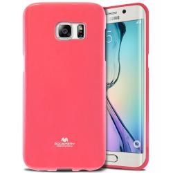 Husa Goospery Jelly Samsung Galaxy S6 Edge, Hot Pink [0]