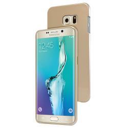 Husa Goospery Jelly Samsung Galaxy S6 Edge Plus, Gold1