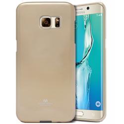 Husa Goospery Jelly Samsung Galaxy S6 Edge Plus, Gold0
