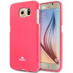 Husa Goospery Jelly Samsung Galaxy S6, Hot Pink0