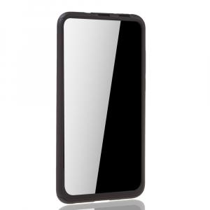 Husa Huawei Honor View 20 Full Cover 360 + folie sticla, Negru2