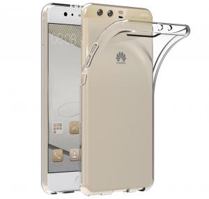 Husa Huawei P10 Plus TPU Slim, Transparent [0]