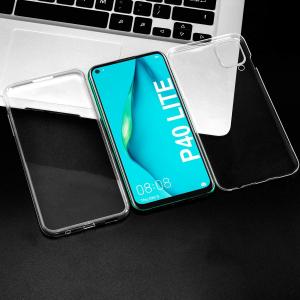 Husa Huawei P40 Lite Full TPU 360 (fata + spate), Transparent3