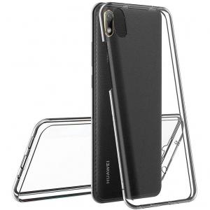 Husa Huawei Y5 2019 Full TPU 360 (fata + spate), Transparent1