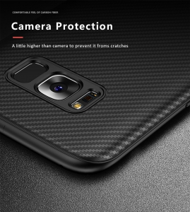 Husa iPaky Carbon Fiber Samsung Galaxy S8, Negru3