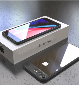 Husa iPaky Slim iPhone 7 Plus, Negru2