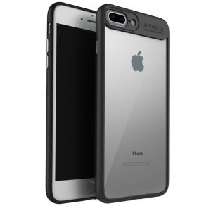 Husa iPaky Slim iPhone 7 Plus, Negru0