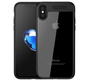 Husa iPaky Slim iPhone X, Negru0