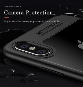 Husa iPaky Slim iPhone X, Negru4