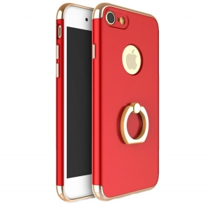 Husa iPhone 6 / 6S Joyroom LingPai Ring, Red0