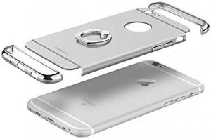 Husa iPhone 6 / 6S Joyroom LingPai Ring, Silver3