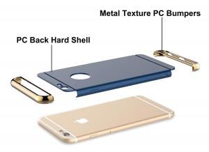 Husa iPhone 6 / 6S Joyroom LingPai Series, Albastru3
