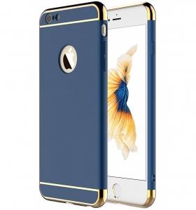Husa iPhone 6 / 6S Joyroom LingPai Series, Albastru0