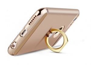 Husa iPhone 6 Plus / 6S Plus Joyroom LingPai Ring, Gold1