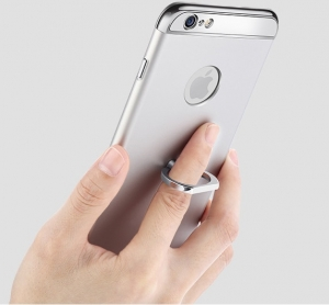 Husa iPhone 6 Plus / 6S Plus Joyroom LingPai Ring, Silver2