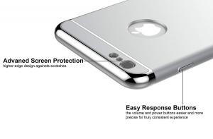 Husa iPhone 6 Plus / 6S Plus Joyroom LingPai Series, Silver2