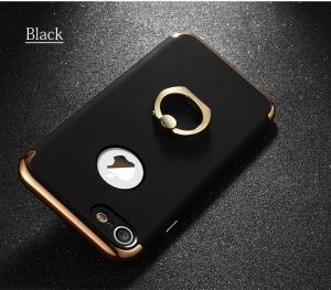 Husa iPhone 7 Joyroom LingPai Ring, Black1