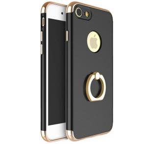 Husa iPhone 7 Joyroom LingPai Ring, Black0