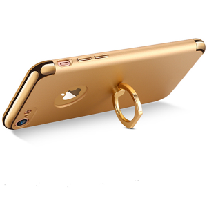 Husa iPhone 7 Joyroom LingPai Ring, Gold1
