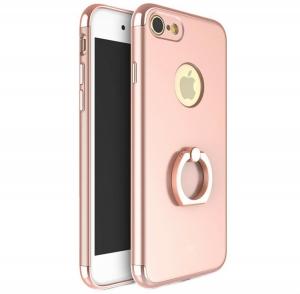 Husa iPhone 7 Joyroom LingPai Ring, Rose Gold0