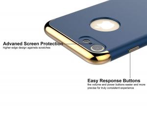 Husa iPhone 7 Joyroom LingPai Series, Albastru2
