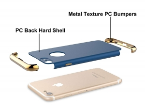 Husa iPhone 7 Joyroom LingPai Series, Albastru [3]