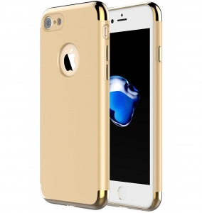 Husa iPhone 7 Joyroom LingPai Series, Gold0