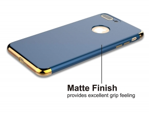 Husa iPhone 7 Plus Joyroom LingPai Series, Albastru1