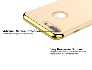 Husa iPhone 7 Plus Joyroom LingPai Series, Gold2