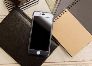 Husa Joyroom 360 + folie sticla iPhone 6 Plus / 6S Plus, Negru [2]